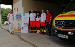 A büszke mentős csapat