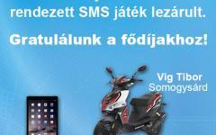 SMS játék nyertesei