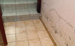 Beltéri falak ázás utáni kijavítása
