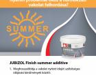 JUBIZOL Summer additive - ismertető