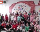 Az iskolások örültek a megújult belső felületnek