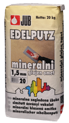 JUBIZOL Mineral finish S (Ásványi simított vakolat)